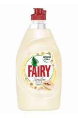 FAIRY Płyn do naczyń 450ml Sensitive Rumianek...